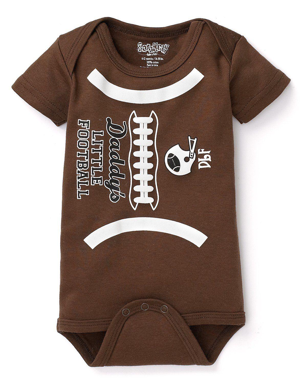 Softball Love Kids Girl Boy Short Sleeve Bodysuit Rompers 0-2T