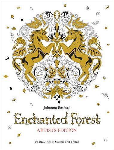 Enchanted Forest 20 Drawings To Color And Frame Amazoncouk Johanna Basford 9781780677859 Books Coloring TipsAdult