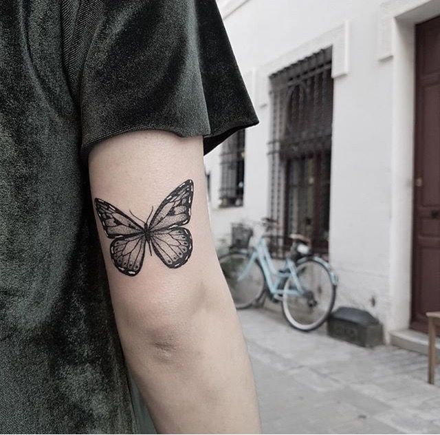 Tattoos Image By Tatjana Blanusa Butterfly Tattoos On Arm Tattoos Piercing Tattoo