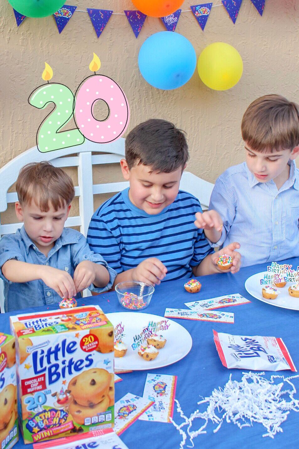 Celebrate with little bites snacks little bites 20th