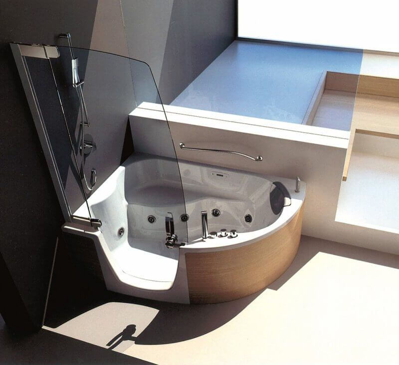 How To Design Bathroom By Latest Hot Trends Shower Tub Tub