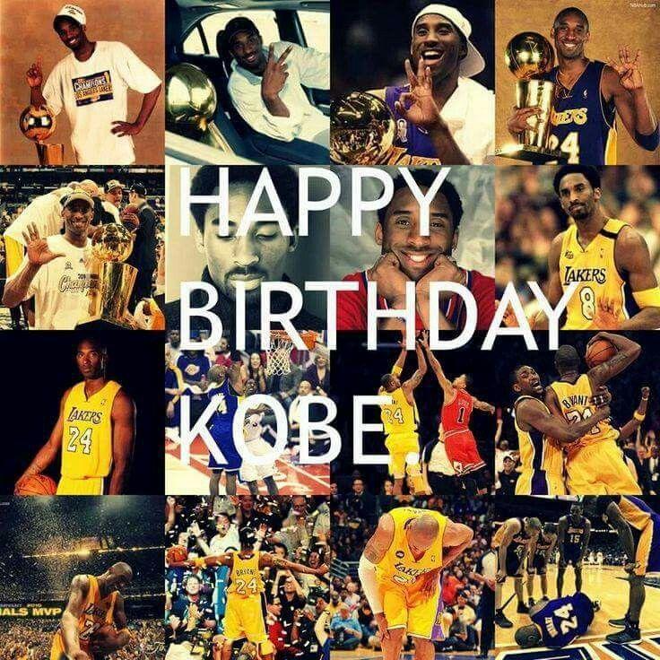 Happy Birthday Kobe♡♡♡ 8/20. Lakers kobe, Kobe, Black mamba