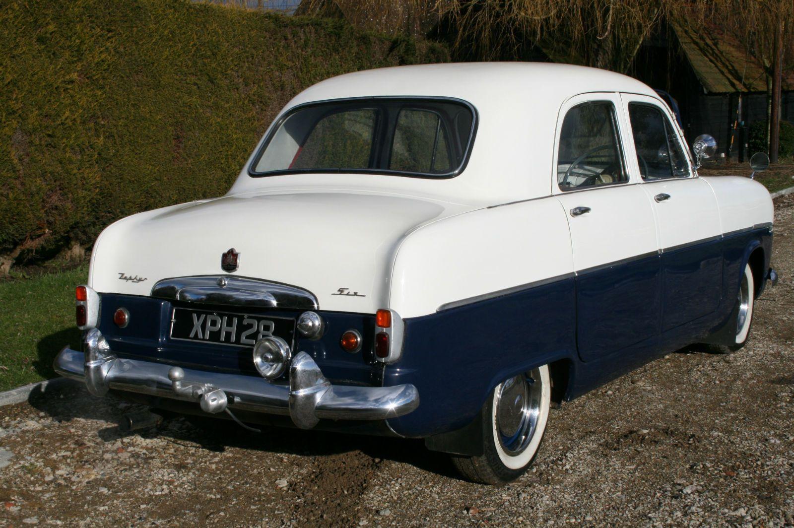 Ford Zephyr 6 Mk1 Very Original Vehicle Ebay
