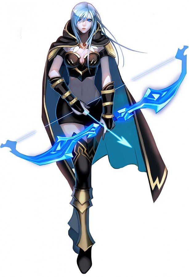 Ashe League Of Legends VG As In Very Geeky