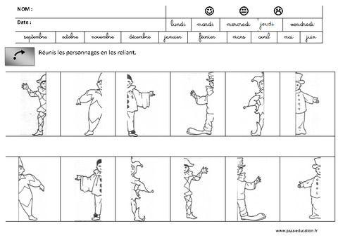 discrimination visuelle lecture maternelle grande section gs cycle 2 pass