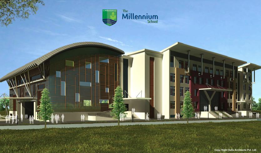 Architecture Design India the millennium school, india   school facilities   mood board