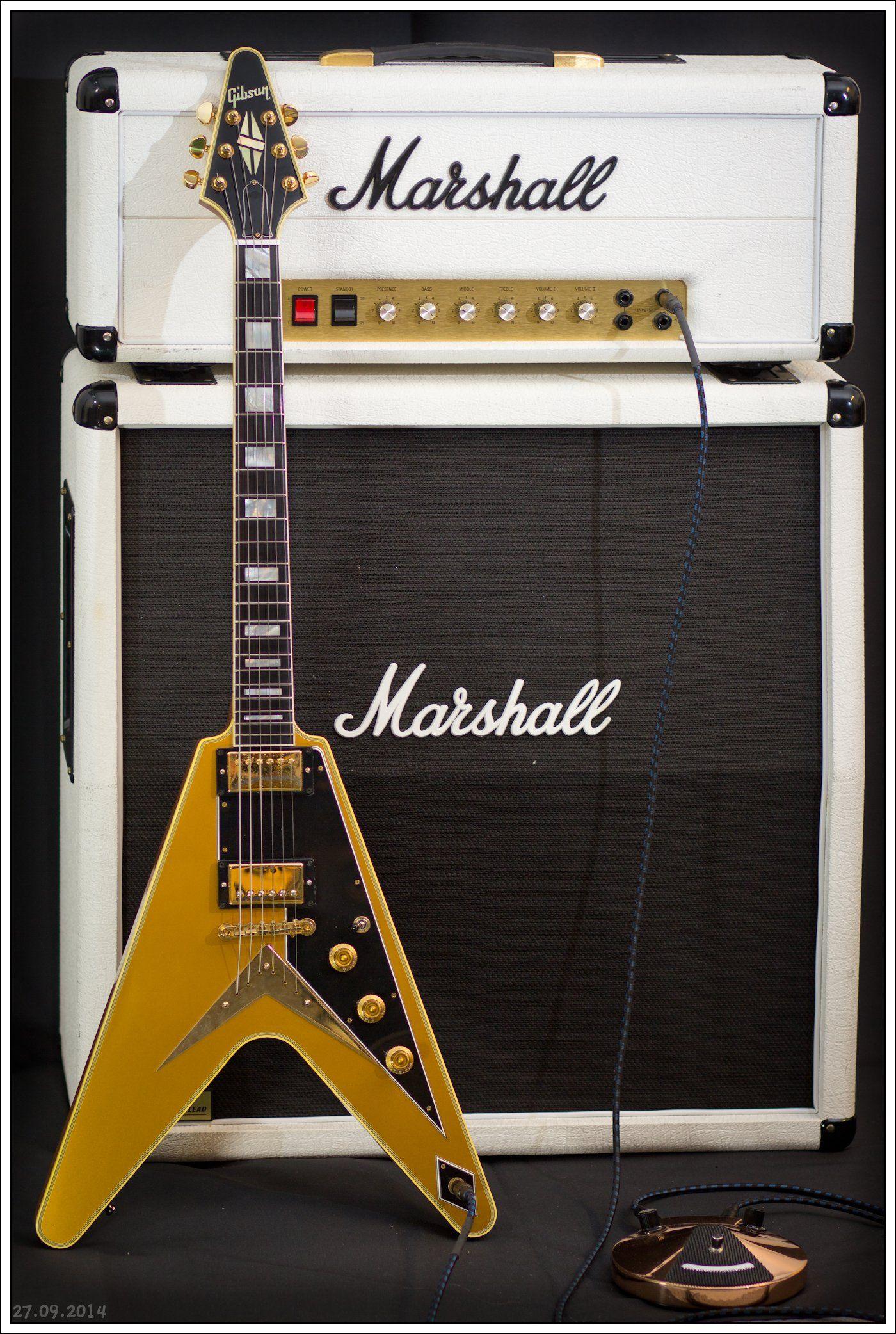 Gibson Flying V Custom Goldtop Marshall 1959rr Guitars Building Or Something Similar Page 8 Mylespaulcom