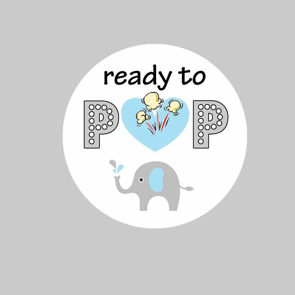 Elephant Tags Ready To Pop Elephant Baby Shower Invitations Gold Baby Shower Invitations Ready To Pop