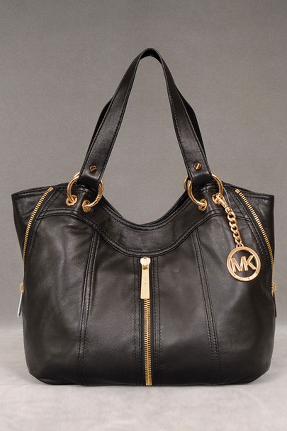 Michael Kors Moxley Shoulder Tote In Black