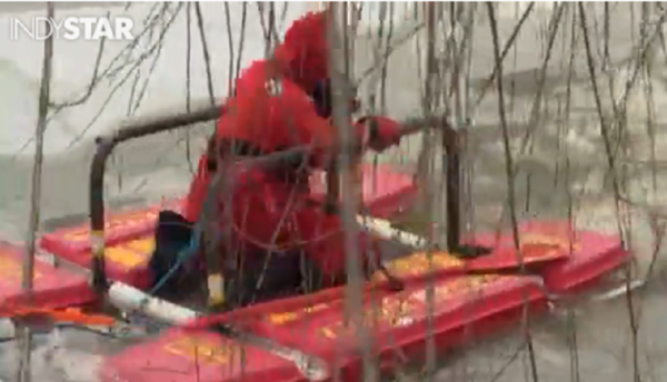 Rescuers Save Woman And Her Dog From Icy Lake She Dog Animal Rescue Stories Dog Stories