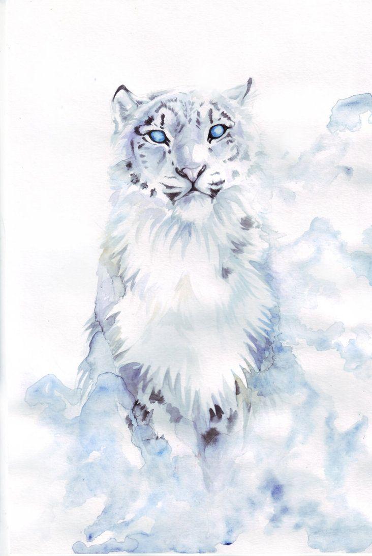 Snow Leopard by RavenMadwolf