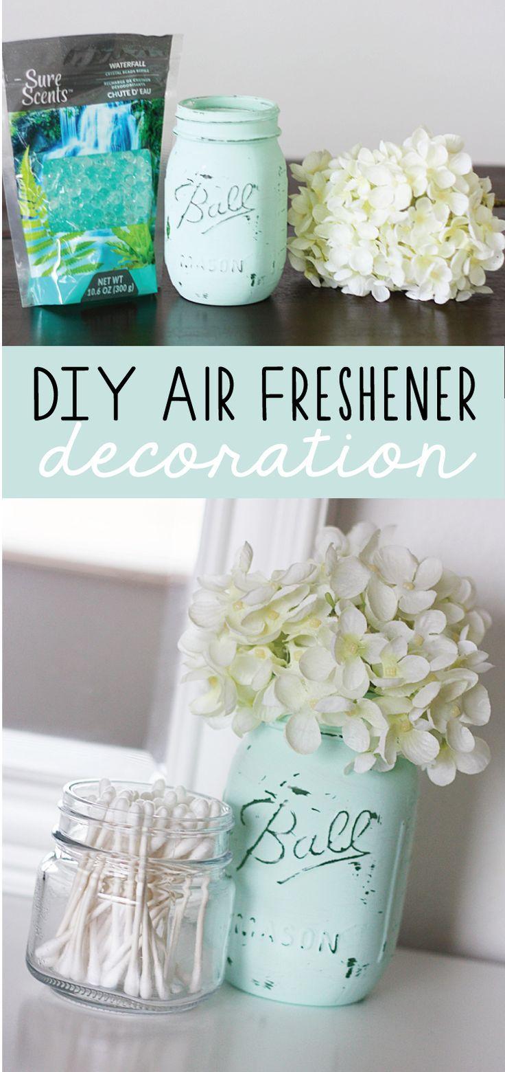 Diy Air Freshener Decoration Diy Air Freshener Jar Crafts