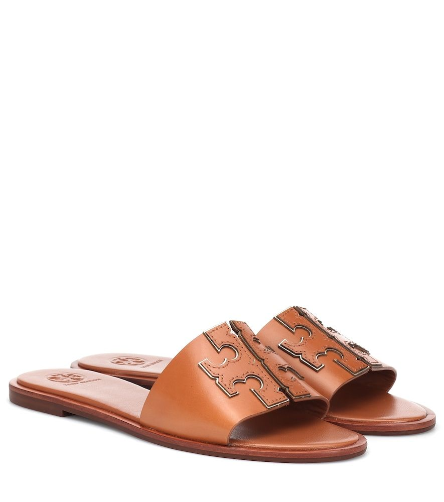 Tory Burch Ines leather slides -   11 hair Summer tory burch ideas