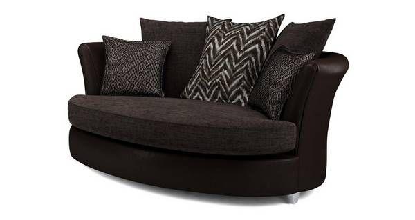 Best Odell Pillow Back Cuddler Sofa Dfs Cuddler Sofa Sofa 400 x 300