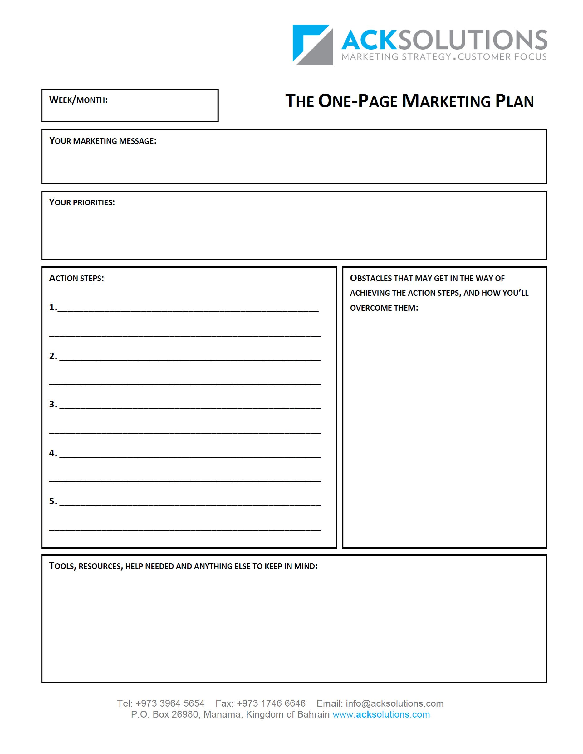 Business Plan Template Free Download Templates Nonprofit