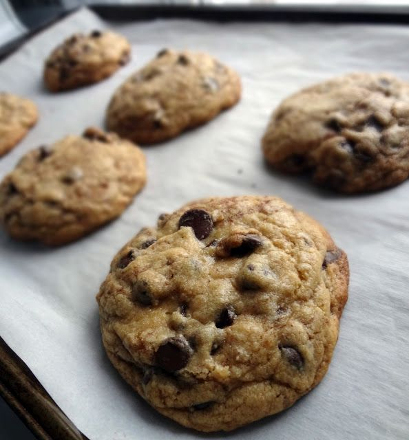 The Cooking Actress: Levain Chocolate Chip Cookie Copy Cat