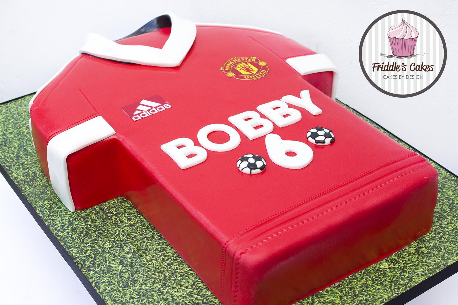 Manchester United Football Shirt Cake Soccer Birthday Cakes Shirt Cake Manchester United Birthday Cake