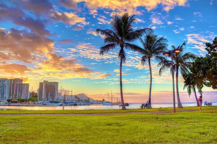 海外旅行の代表地とも言えるハワイには、豊かな大自然が作り出した青い海とどこまでも続くビーチ、世界有数の活火山、ホエール・ウォッチングなど魅力が詰まっています。ハワイは6島で成り立ちますが、「ワイキキ・ビーチ」などのビーチが有名なハワイの中心地であるオアフ島や、静かでプライベート感あふれる「ラナイ島」など、それぞれの島にはそれぞれの魅力があります。 今回はそんなハワイで、ここだけは外せないと思うようなハワイでおすすめの定番観光地を15ヶ所厳選してご紹介します。ぜひ、ハワイへ訪れる際は参考にしてみてください。