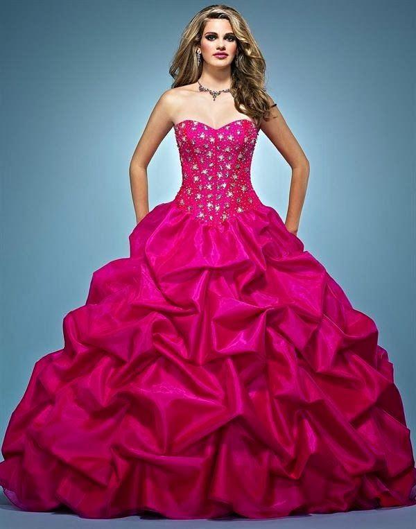 Lindos Vestidos De 15 Años Estilo Princesa Moda 2014
