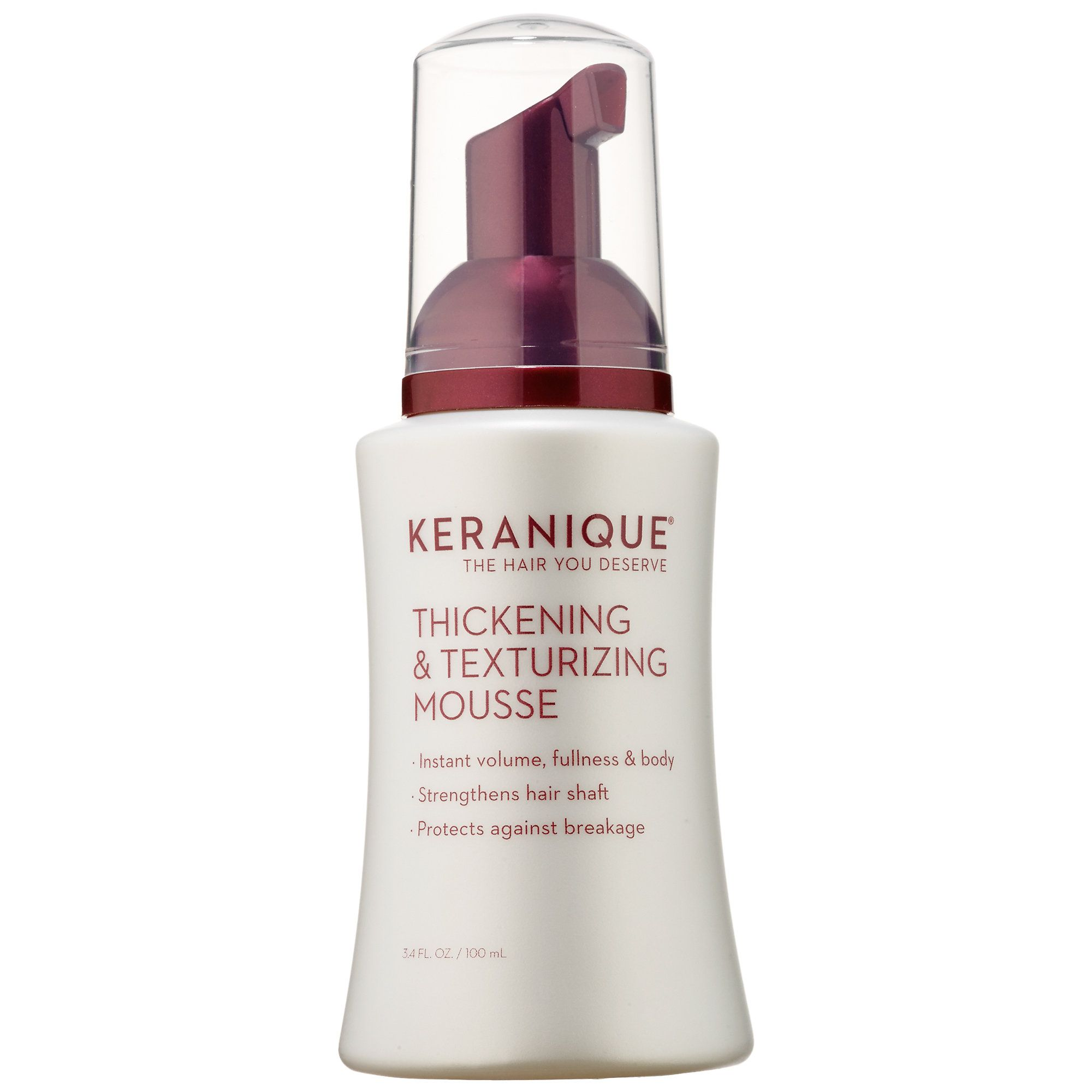 Shop Keranique Thickening u Texturizing Mousse at Sephora This
