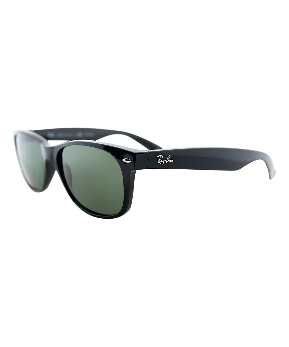 Look at this #zulilyfind! Ray-Ban Black Polarized Wayfarer Sunglasses by Ray-Ban #zulilyfinds