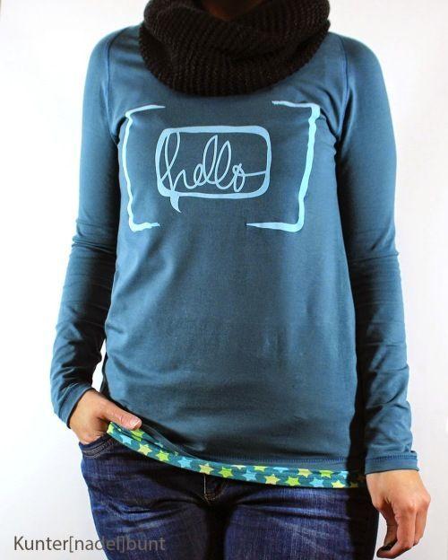Schnelle Shirts für Damen (via Bloglovin.com )