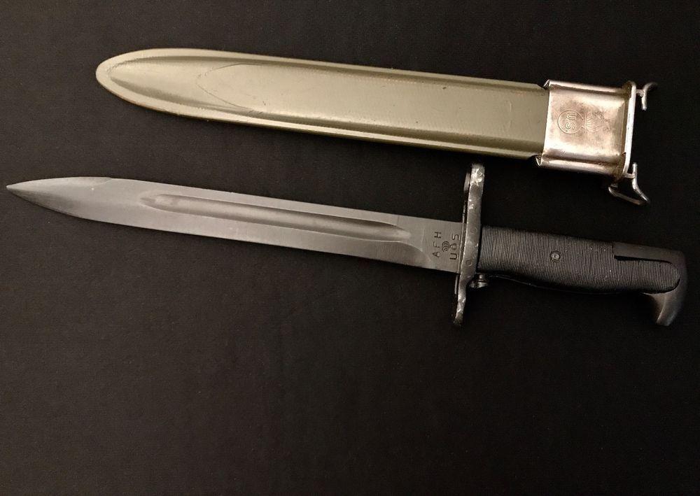 AFH M1942 M1 Garand Bayonet -US WW II/WW2 Knife Collection American