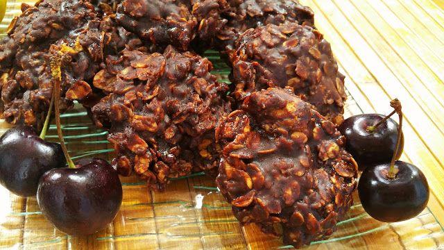 Vegspiration - Blog de inspiración vegana: Raw chocolate cookies with coconut oil.
