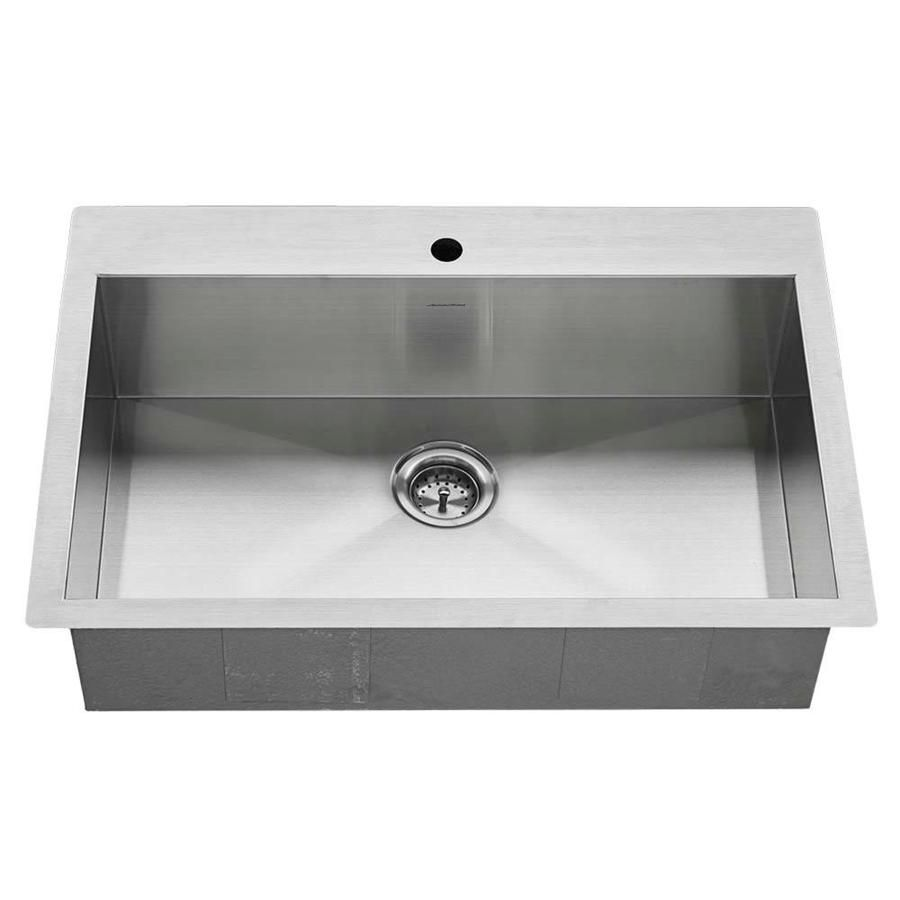 American Standard 220 in x 330 in Single Basin Stainless