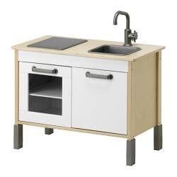 "Ikea Play Kitchen Set duktig mini-kitchen width: 28 3/8 "" depth: 15 3/4 "" height: 22 7/8"