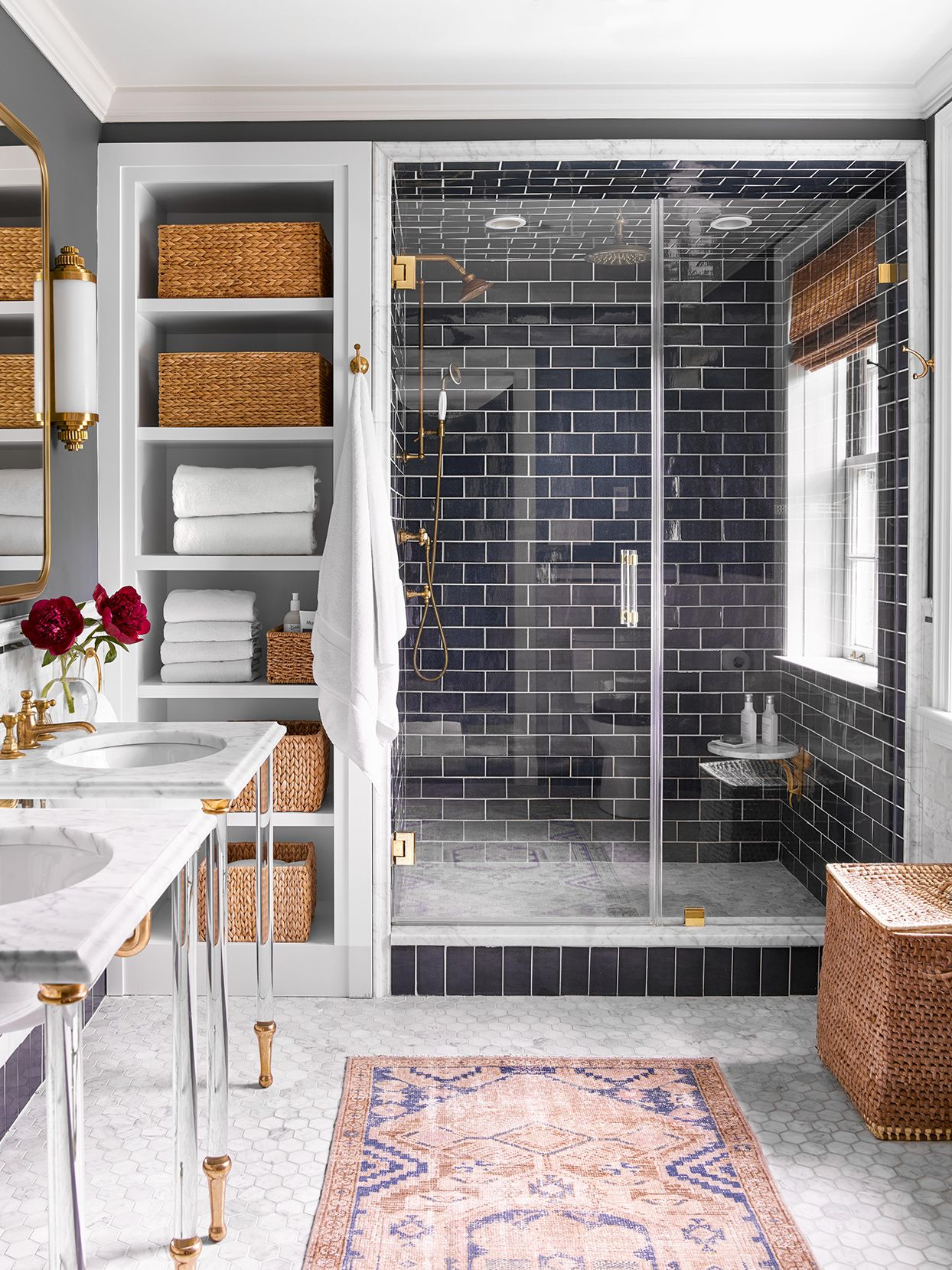 17 Money Saving Tips To Stretch Your Small Bathroom Budget In 2020 Color Bathroom Design Small Bathroom Home