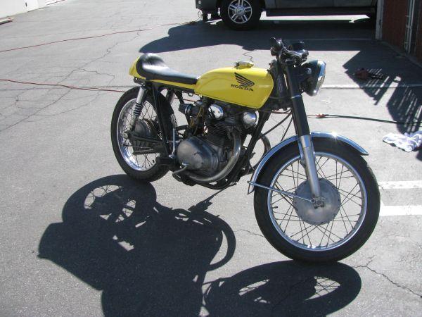 1970 honda cb350 cafe racer motorcycle $2000 http://losangeles