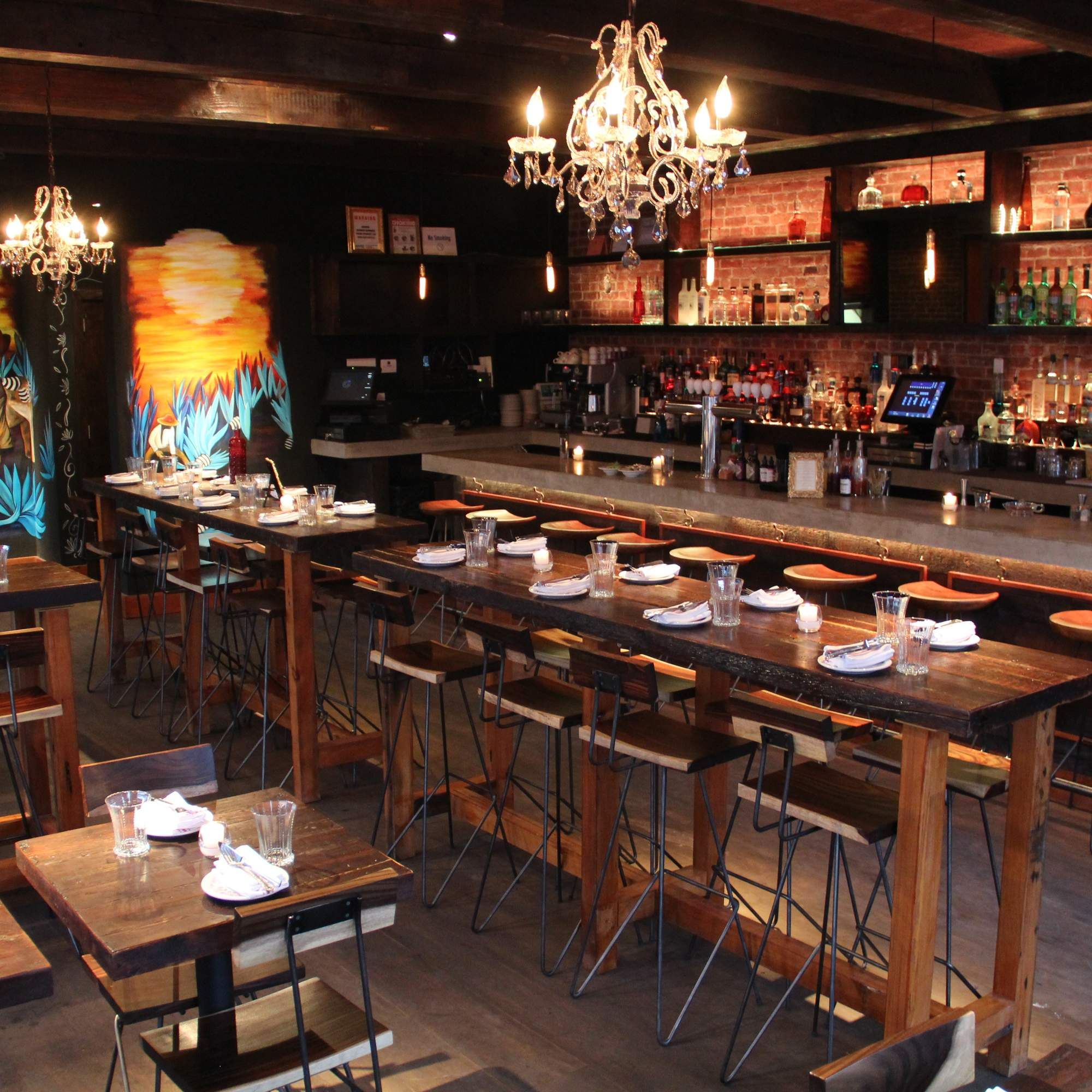 The Nyc Top Chef Dining Guide Nyc Living Anejo Bar Set Up
