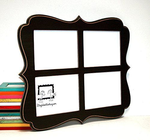 Collage picture frame 4) 8x10 openings, vertical or horizontal ...