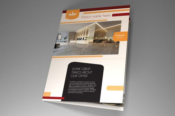 Hotel Brochure Indesign Vol By Rudanstudio On Creative Market