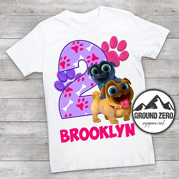 Puppy Dog Pals Party shirt Puppy Dog Pals Birthday girl shirt Birthday girl
