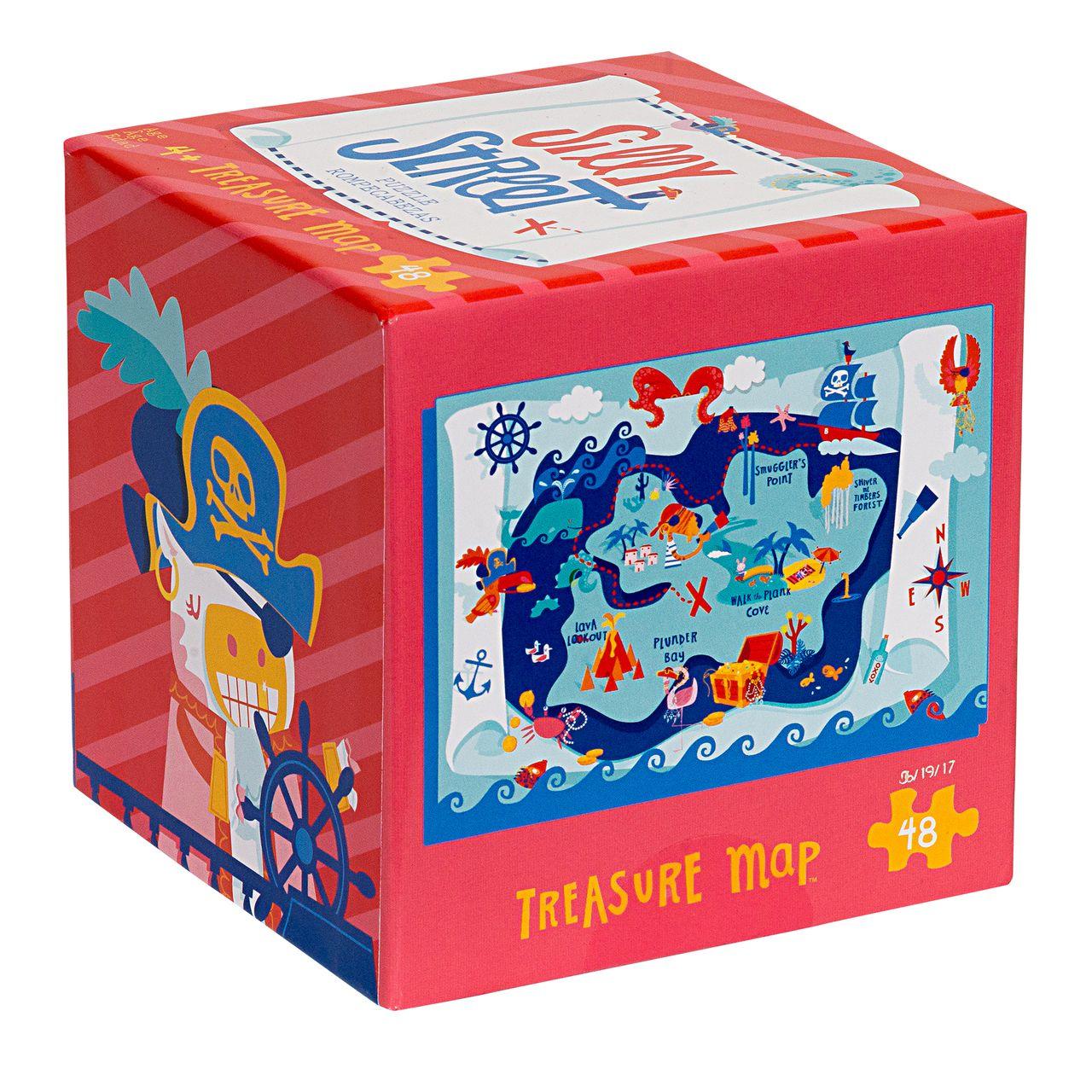 Silly Street Treasure Map 48 Piece Children's Jigsaw