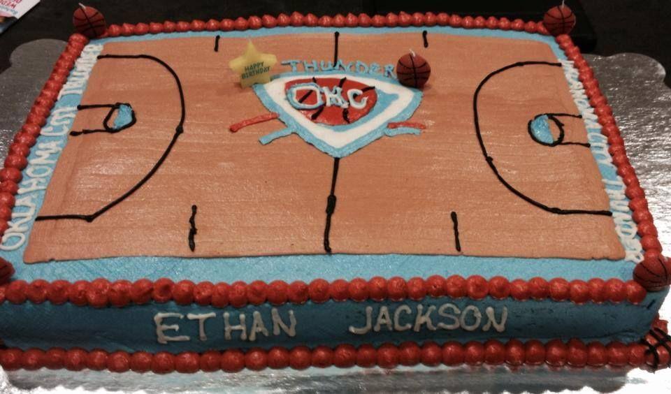 Astonishing Basketball Court Birthday Cake Cake Decorating Cake Birthday Cake Funny Birthday Cards Online Kookostrdamsfinfo