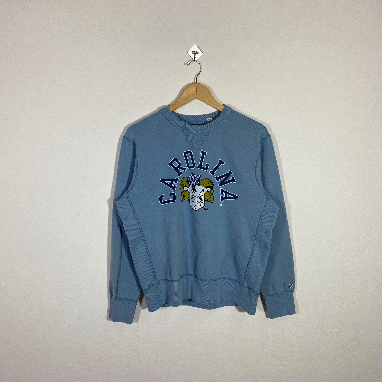 Vintage 90s University Of North Carolina Sweatshirt Jumper Unc Etsy Sweatshirts Unc Sweatshirt Pullover [ 3000 x 3000 Pixel ]