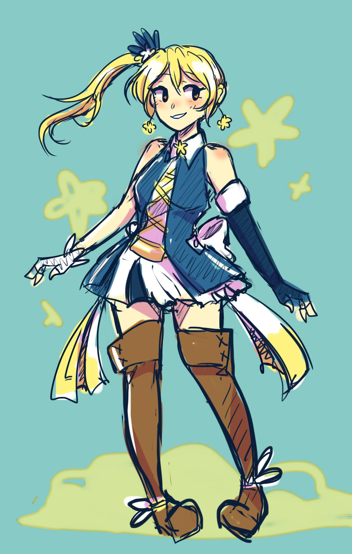 So hear me out here, like fairy tail but like with magical