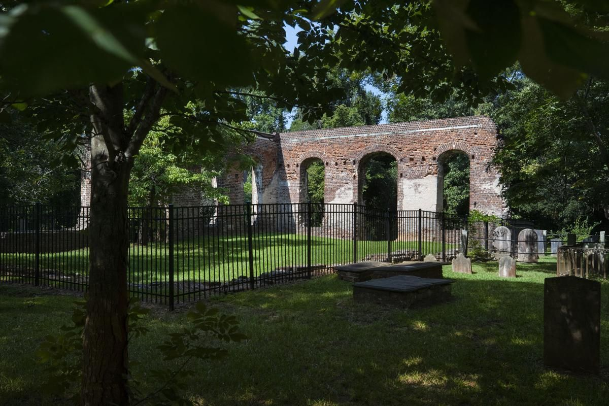 Burned three times churchs remains near charleston evoke