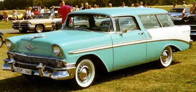 1956 Chevrolet Bel Air Nomad Kdp148 Tri Five Wikipedia