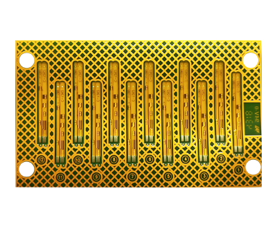 Hoyogo Pcb Layer Board Thickness 2l 0 12 0 03mm Base Material Stack Up Pi 50um Surface Process Enig Min Hole Copper Thickness 12um Solder Mask Color Green Sol