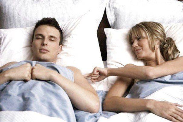 Любимый муж в постели с женой
