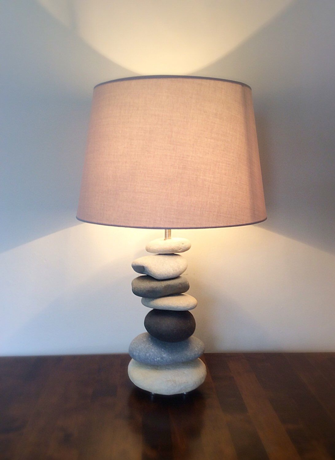 Loving The Cool Colours Of My New Lamp Etsy