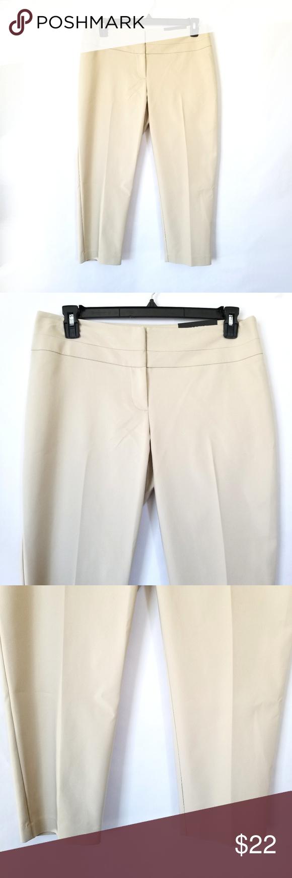 d7f93cfea22 Apt. 9 Torie Modern Fit Capri Dress Pants Size 12 New with tags. Size