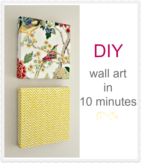 DIY Wall Art in 10 Minutes | Pinterest | Diy wall art, Diy wall and ...