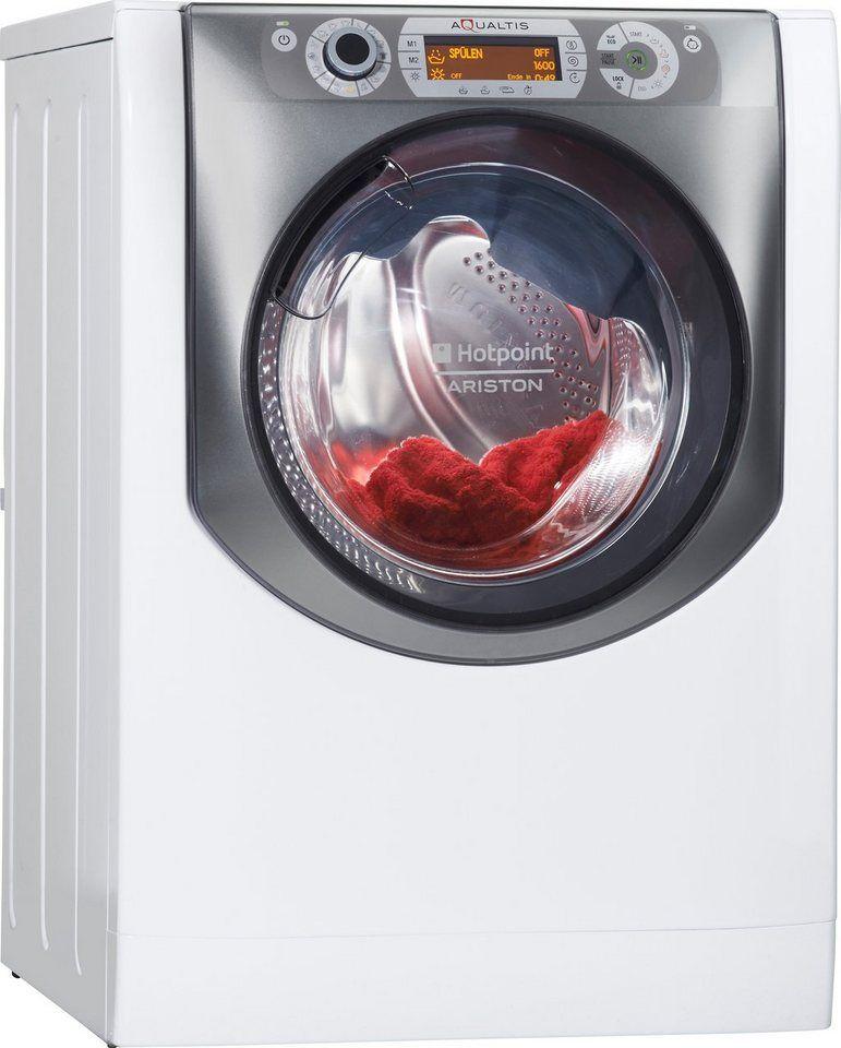 Hotpoint Waschtrockner AQD1071D 69 EU/A, 10 kg/7 kg, 1600