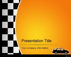 free taxi powerpoint template background abstract powerpoint