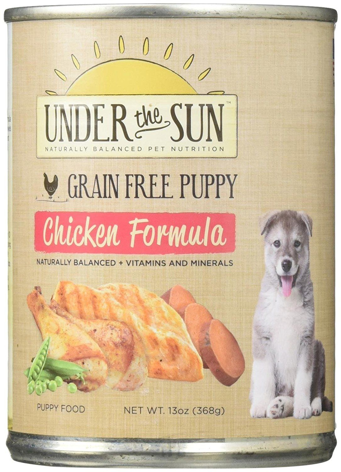 Canidae Under The Sun Grain Free 13 Oz Canned Puppy Food Case Of